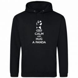 Толстовка KEEP CALM and HUG A PANDA - FatLine