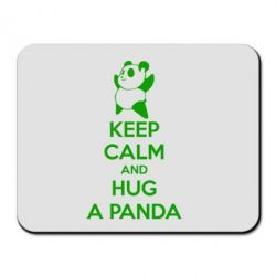 Коврик для мыши KEEP CALM and HUG A PANDA - FatLine