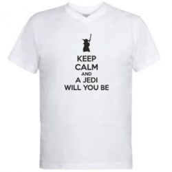 ������� ��������  � V-�������� ������� KEEP CALM and Jedi will you be - FatLine