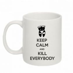 Кружка 320ml KEEP CALM and KILL EVERYBODY - FatLine