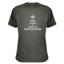 ����������� �������� KEEP CALM and LISTEN to DEPECHE MODE - FatLine