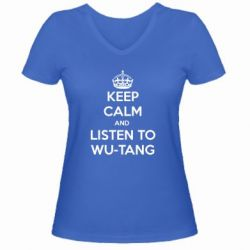 ������� �������� � V-�������� ������� KEEP CALM and LISTEN to WU-TANG