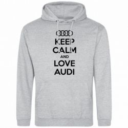 ������� ��������� Keep Calm and Love Audi - FatLine