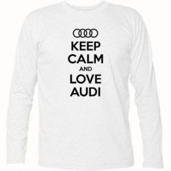 �������� � ������� ������� Keep Calm and Love Audi - FatLine