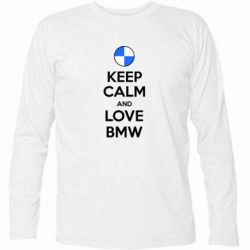 �������� � ������� ������� Keep Calm and Love BMW - FatLine