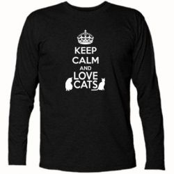 �������� � ������� ������� KEEP CALM and LOVE CATS - FatLine