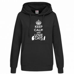 ������� ��������� KEEP CALM and LOVE CATS - FatLine