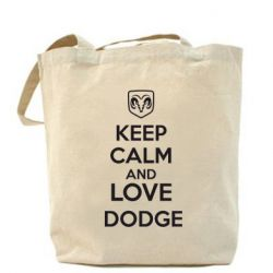 Сумка KEEP CALM AND LOVE DODGE - FatLine