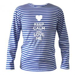 ��������� � ������� ������� Keep calm and love me - FatLine