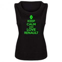 ������� ����� KEEP CALM AND LOVE RENAULT