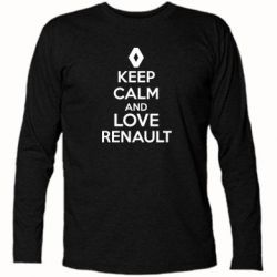 �������� � ������� ������� KEEP CALM AND LOVE RENAULT - FatLine