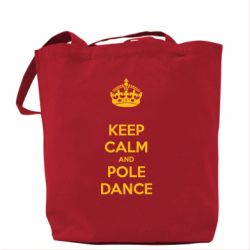 Сумка KEEP CALM and pole dance - FatLine