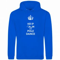 Толстовка KEEP CALM and pole dance - FatLine