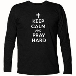 �������� � ������� ������� KEEP CALM and PRAY HARD - FatLine