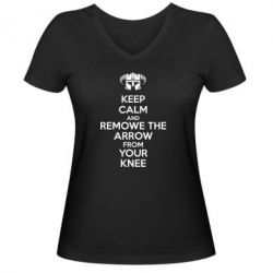������� �������� � V-�������� ������� KEEP CALM and REMOVE THE ARROW - FatLine
