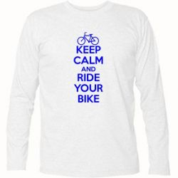 �������� � ������� ������� KEEP CALM AND RIDE YOUR BIKE - FatLine