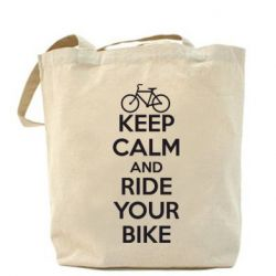 Сумка KEEP CALM AND RIDE YOUR BIKE - FatLine
