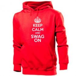 Толстовка KEEP CALM and SWAG ON