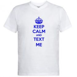 ������� ��������  � V-�������� ������� KEEP CALM and TEXT ME