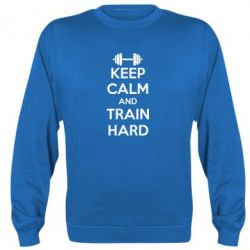 Реглан KEEP CALM and TRAIN HARD - FatLine