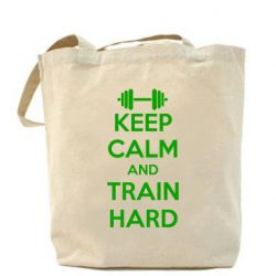 Сумка KEEP CALM and TRAIN HARD