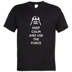 ������� ��������  � V-�������� ������� Keep Calm and use the Force - FatLine