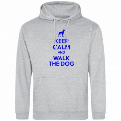 Толстовка KEEP CALM and WALK THE DOG