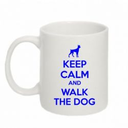 Кружка 320ml KEEP CALM and WALK THE DOG - FatLine