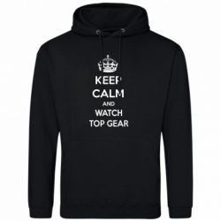 Мужская толстовка KEEP CALM and WATCH TOP GEAR - FatLine