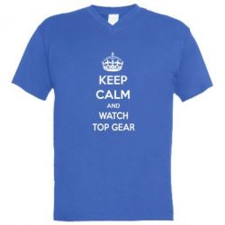 ������� ��������  � V-�������� ������� KEEP CALM and WATCH TOP GEAR