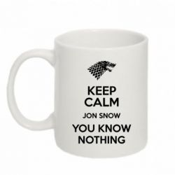 Кружка 320ml Keep Calm Jon Snow - FatLine