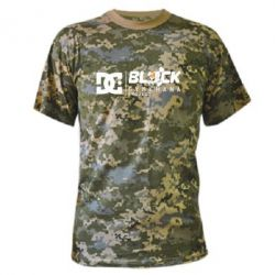 Камуфляжная футболка Ken Block Gymkhana Project - FatLine