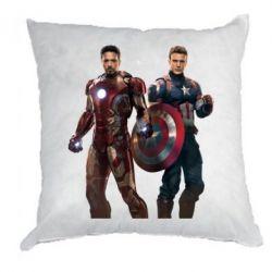 Подушка Кэп и Тони