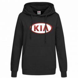 Женская толстовка KIA 3D Logo - FatLine
