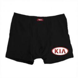 Мужские трусы KIA 3D Logo