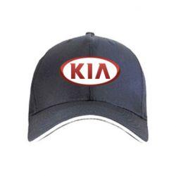 кепка KIA 3D Logo - FatLine