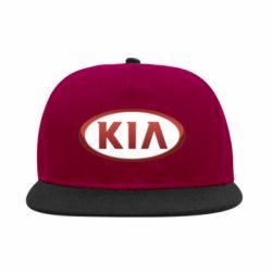 Снепбек KIA 3D Logo - FatLine