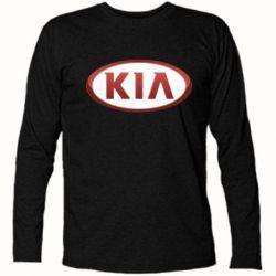 Футболка с длинным рукавом KIA 3D Logo - FatLine