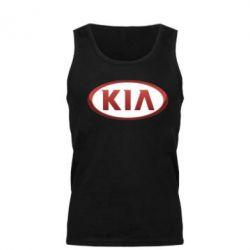 Мужская майка KIA 3D Logo - FatLine