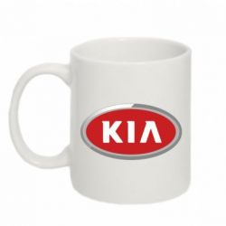Кружка 320ml KIA Logo 3D - FatLine