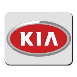 Коврик для мыши KIA Logo 3D - FatLine