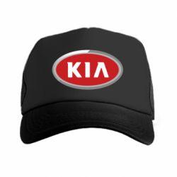 Кепка-тракер KIA Logo 3D - FatLine