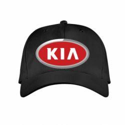 Детская кепка KIA Logo 3D - FatLine
