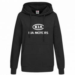 Женская толстовка Kia Logo - FatLine