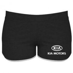 Женские шорты Kia Logo - FatLine