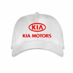 Детская кепка Kia Logo - FatLine