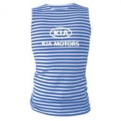 Майка-тельняшка Kia Logo