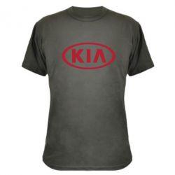 Камуфляжная футболка KIA - FatLine