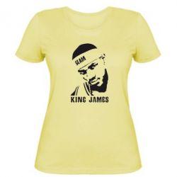 Женская футболка King James - FatLine