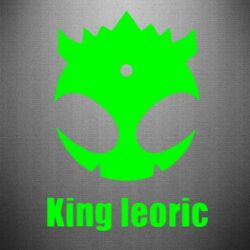 Наклейка King Leoric - FatLine